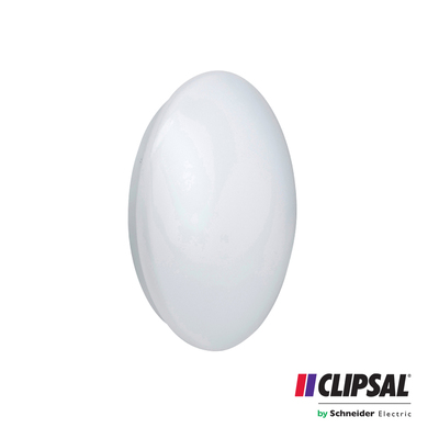 14W Clipsal LED Ceiling Light | 3000K | Oyster Lamp Slimline Round