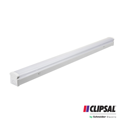 40W Clipsal LED Diffused Emergency Batten | 4000K | 120cm Ceiling Fitting Bar Lamp