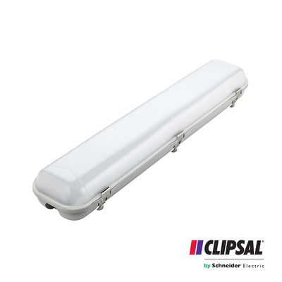 40W Clipsal LED Weatherproof Batten | 5000K | IP65 120cm Ceiling Bar Lamp Outdoor
