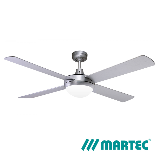 Lifestyle 1300mm 4 Blade Brushed Aluminium Fan Only