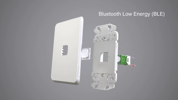 Flush Switch, 5 Gang, 1-Way/2-Way, Vertical Mount, 250V, 10AX,