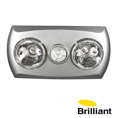Bathroom Heater | Majestic | LED Light with Exhaust Fan | 2+1