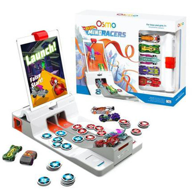 Osmo Hot Wheels Mindracers Kit | Includes Launchpad and Base & Mirror (Reflector)