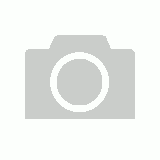 Scandinavian Full Moon Dressing Table White | LED Lamp Integrated
