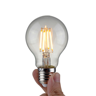 4W LED Filament E27 Screw Light Bulb A19 | Edison Globe Warm White