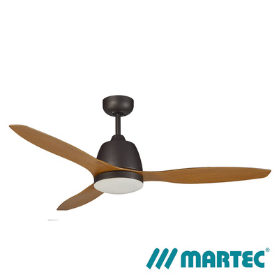 Elite AC Ceiling Fan | Bronze Motor | Tri Colour Dimmable Lamp | 1.3M Merbau Blade