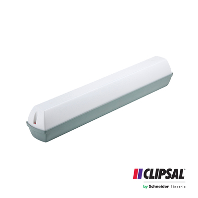 12W Clipsal LED Weatherproof Toughnut | 4000K | IP54 Ceiling Bar Lamp Outdoor