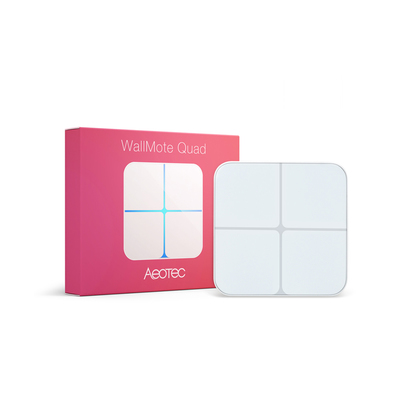Aeotec Wall Mote Quad Lighting Control | Z-Wave Light Switch